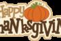 Nov 20-24 - Thanksgiving Holiday