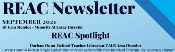 REAC Newsletter – Sept 2021
